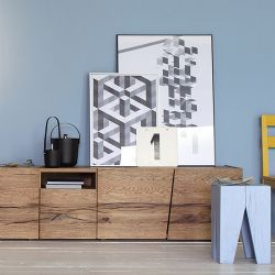 Unika Open Oak Sideboard